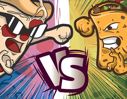 Taco VS Pizza