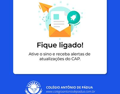 Instagram post: Colégio Antônio de Pádua
