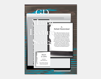 Digital Designers Lecture Series Posters