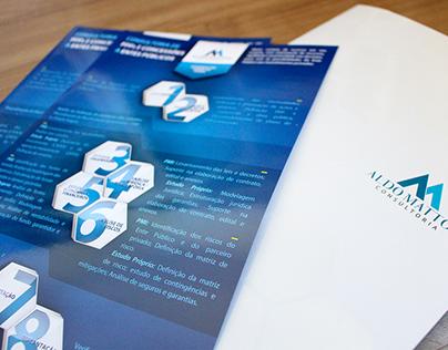 ALDO MATTOS CONSULTORIA | folder + flyers