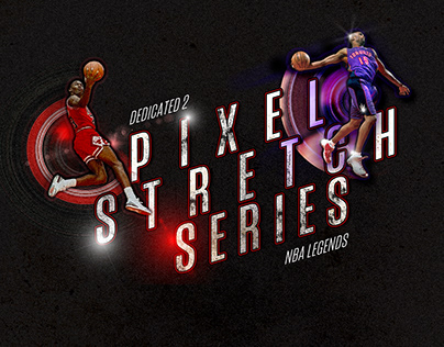PIXELSTRETCH NBA SERIES
