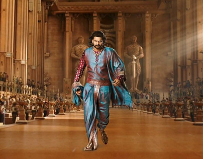 Bahubali Motion Poster Thunderstorm After Effect