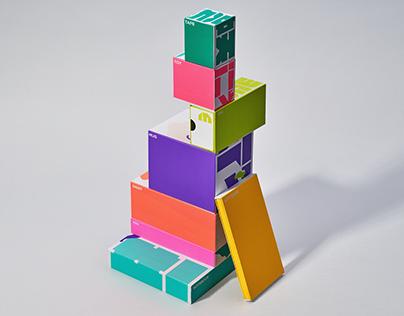 UP!UP!UP!, Packaging, Illustration