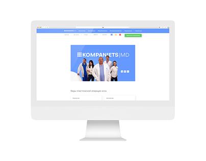 Website for Medical Doctor