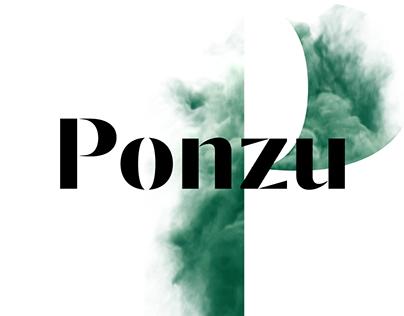 Ponzu typeface