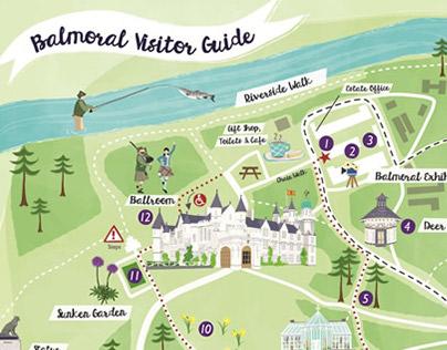 Balmoral Visitor Map