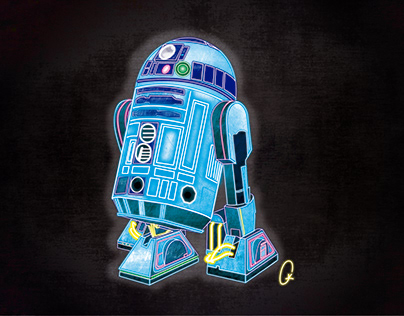 R2-D2 on off