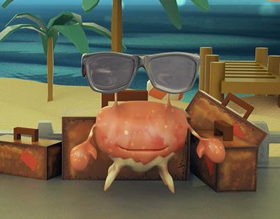 Verano con cangrejos