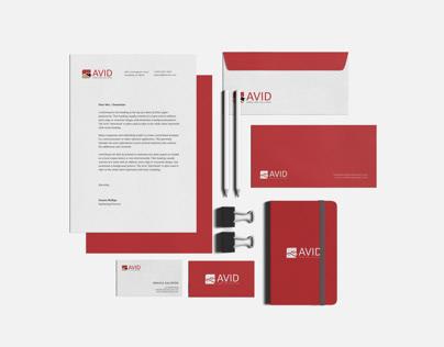 Avid Home Care Solution Branding