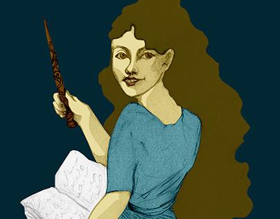 |Illustration| Harry Potter : Hermiona