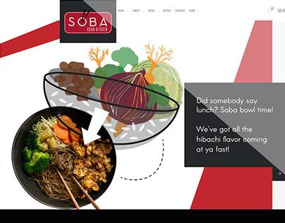 Soba Asian Kitchen Branding