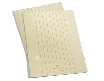 Catalog for a spa, Aahana Resort