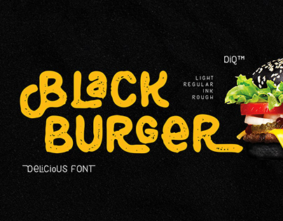 Black Burger Font