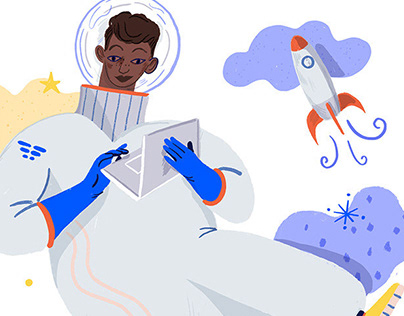 Web Illustrations for Funnelfly