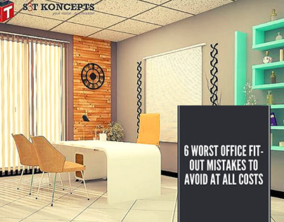 6 Worst Office Fit-Out Mistakes To Avoid At All Costs