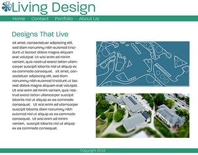Living Design Logo & Web
