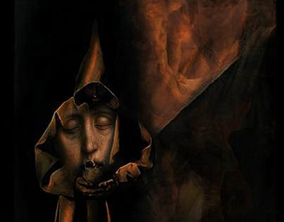 St. Francis Comforting Madona Through Crisis