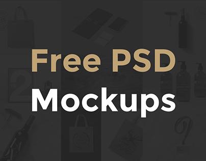 Free PSD Mockup Bundle