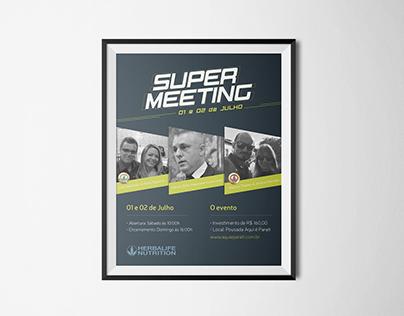 Flyer –Super Meeting Herbalife