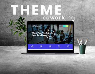 COWORKING OFFICES Web Theme