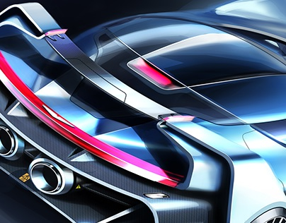 """Aston Martin """"Tech-07"""" Sketches"""