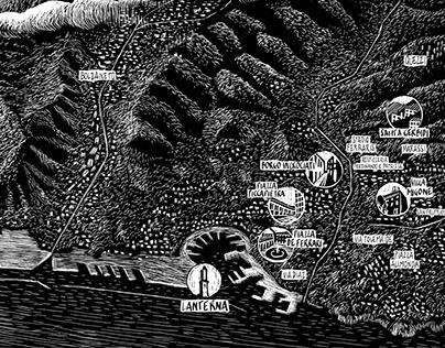 Genova, a map