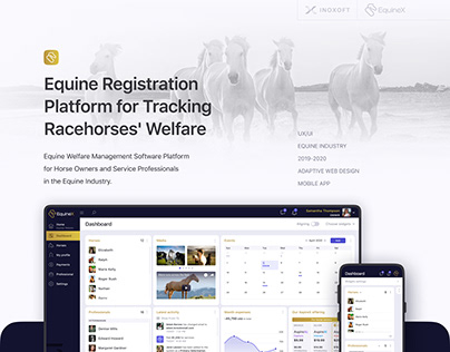 Platform for Tracking Racehorses' Welfare