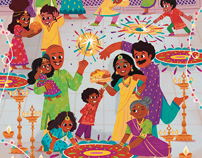 Scholastic UK: All About Diwali