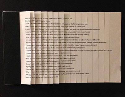 Math and Memory Book