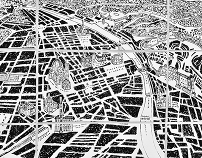 Map of Florence - Artist Book