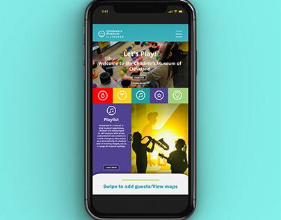 UX/UI Children's Museum App