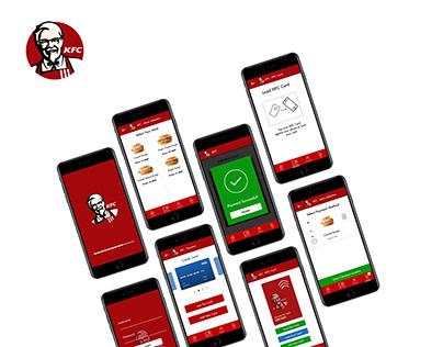 KFC Ghana Concept App