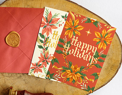 Illustrated Holiday Cards