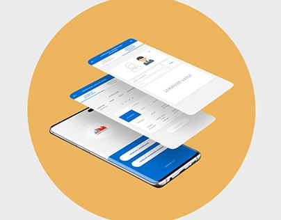 Mobile APP Design UX-UI