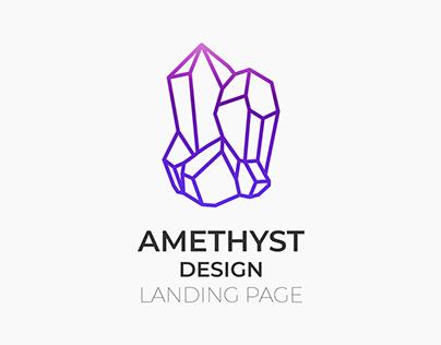 Amethyst Design [1st landing page]