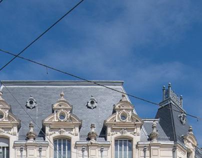 """Transformation de l'ancien théâtre """"Le Kursaal"""""""