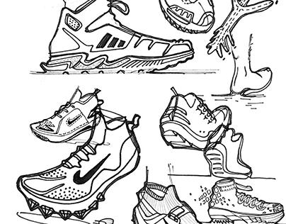 Footwear SKETCHBOOK
