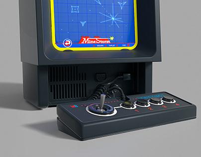 vEctrex console