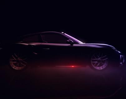 Porsche GT4 VLN championship | Race car branding