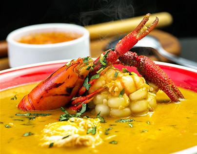 Sopa de Langostino