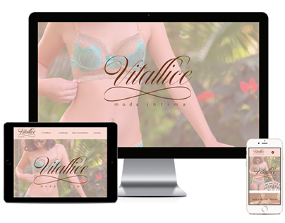 Website - Vitallice Moda Íntima