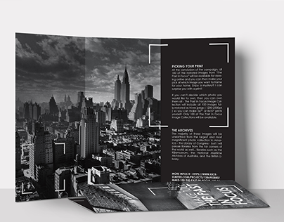 The Past in Focus (Trifold)