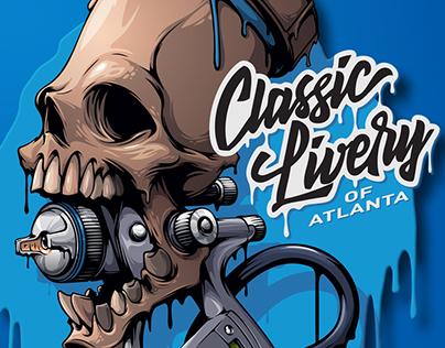 T-shirt design for Classic Livery of Atlanta