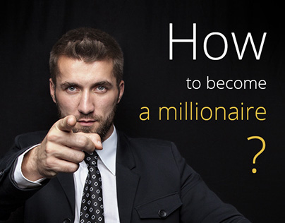 How to become a millionaire: landing page design