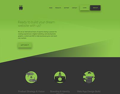HAPwebsite - Redesign