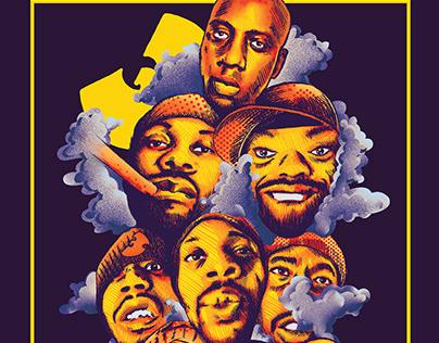 Wu - Tang Clan Illustration 2018