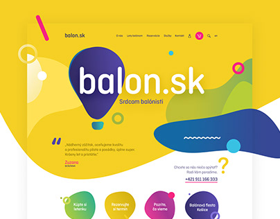 Balloon / web design