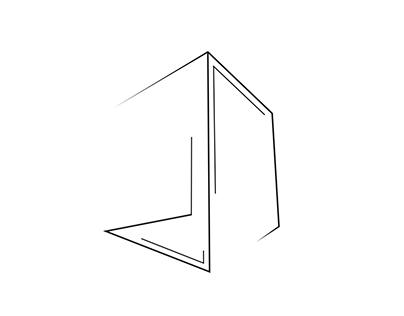 Logo fictif pour une agence immobilière