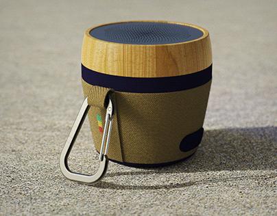 Marley Speaker Cloth Test Rendering