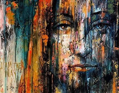 """The Savior"" Artwork inspired by Leonardo da Vinci"